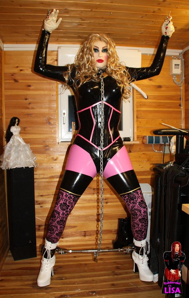 Opinion female rubber self bondage construction site final