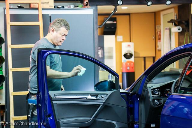 Volkswagen 2016 Golf R - Window Tinting