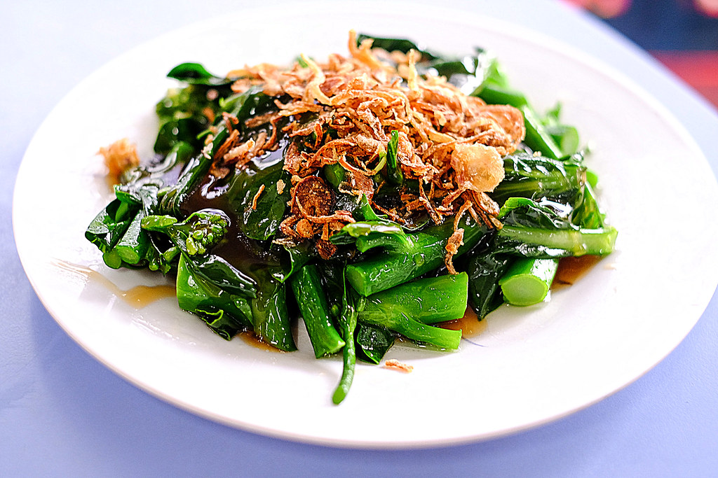 Lian He Ben Ji Claypot Rice: vegtable