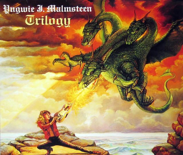 """Yngwie Malmsteen - Trilogy 12"""" Vinyl LP"""