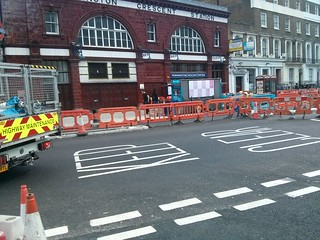 Hampstead Rd - no way through