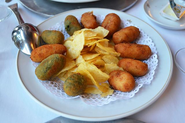 Croquettes, Parador, San Sebastian, La Gomera