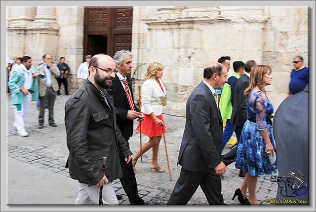 Briviesca en Fiestas 2.015 Procesión del Rosario y canto popular de la Salve (2)