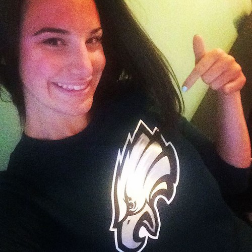 So excited for Monday! #FlyEaglesFly #BirdGang