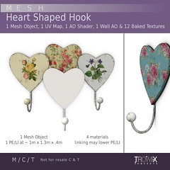 Trowix - Heart Shape Hook Vend