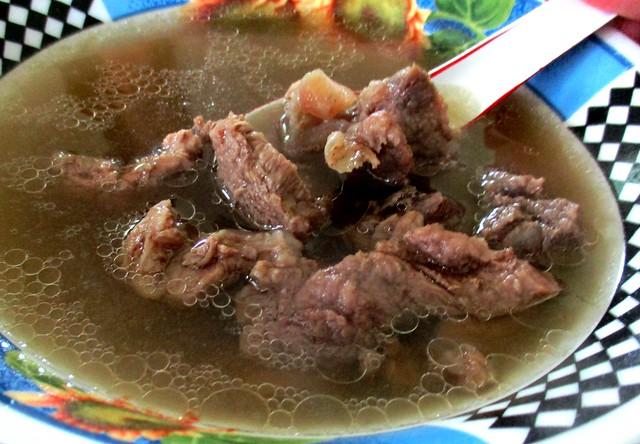 Wild boar soup 1