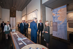 U.S. Secretary of State John Kerry tours the Anchorage Museum in Anchorage, Alaska, on August 30, 2015 [State Department Photo / Public Domain]