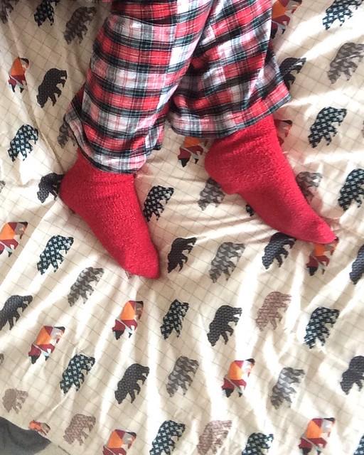Autumn bedding - cozy pjs