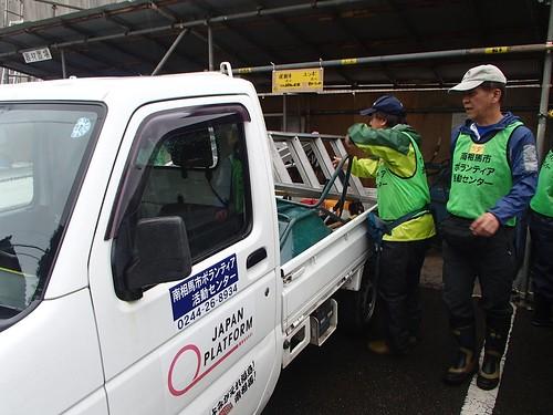 南相馬 避難指示区域でボランティア(援人 0828便)