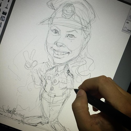 Sketch 4 for client......