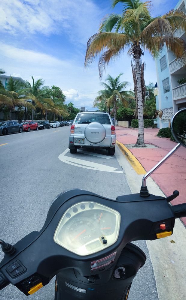 Scooters in Miami