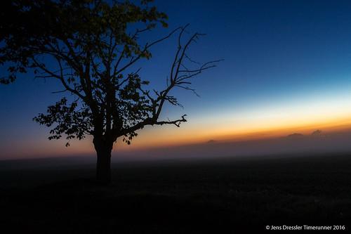 Sonnenaufgang zur Mondfinsternis