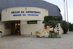 la maison du camembert à camembert - Photo of Sainte-Foy-de-Montgommery