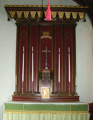 side altar by Munro Cautley, 1925