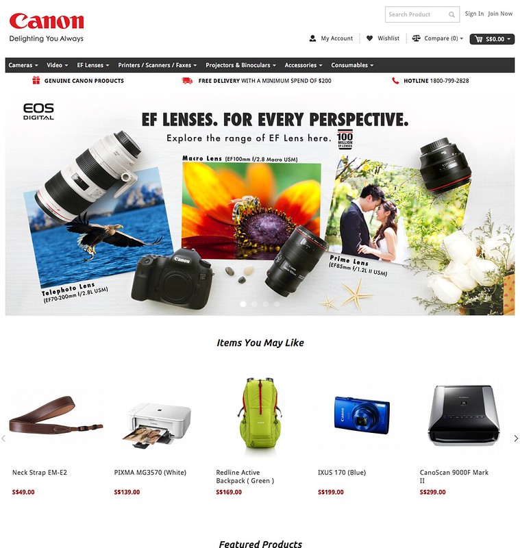 Canon Online Store (Singapore)