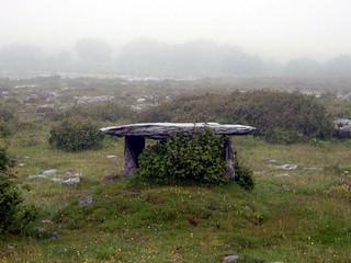 Gleninsheen Wedge Tomb, The Burren, County Clare