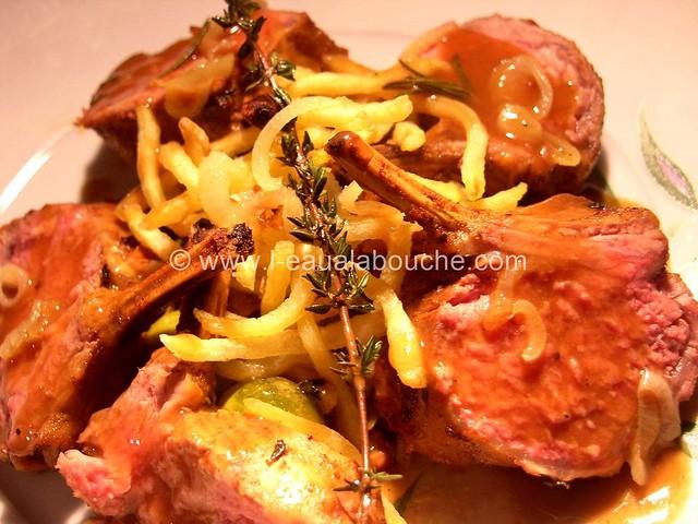 Carré d'Agneau au Beurre de Curry © Ana Luthi Tous droits réservés 016