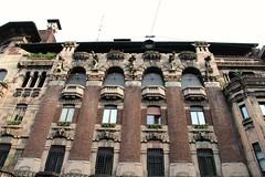 Milano - Casa Berri Meregalli