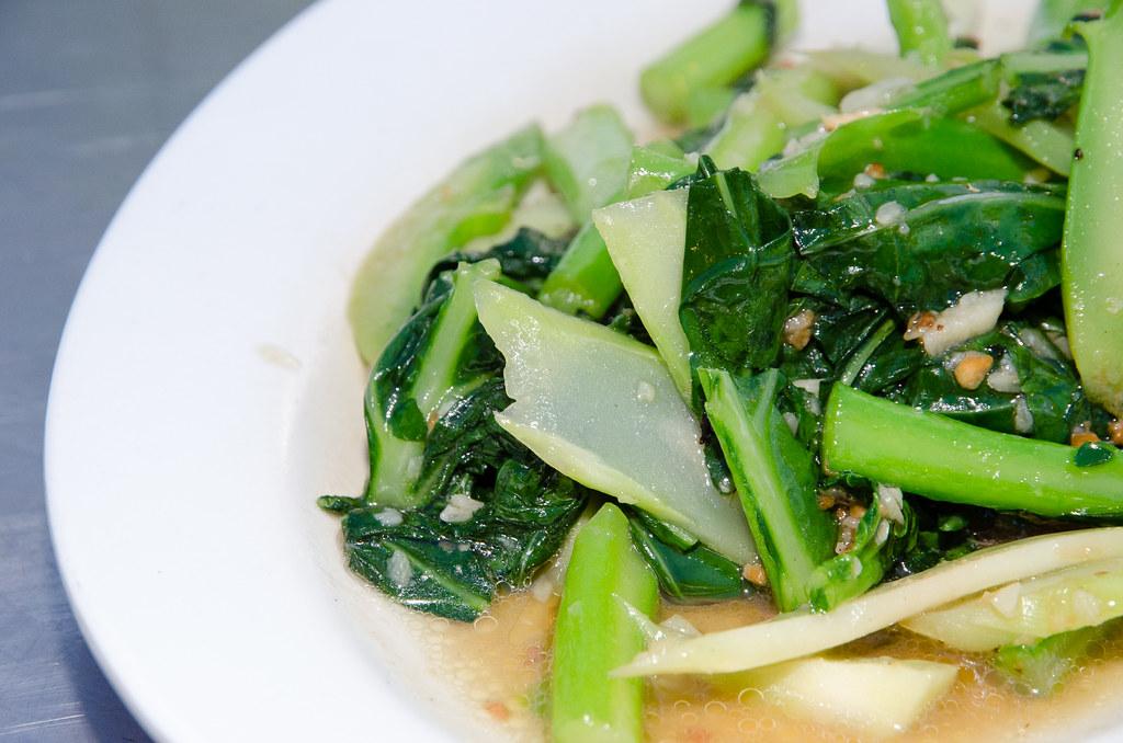 Vegetable at Tsunami Village Cafe