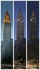 Chrysler Building:  Day into Night