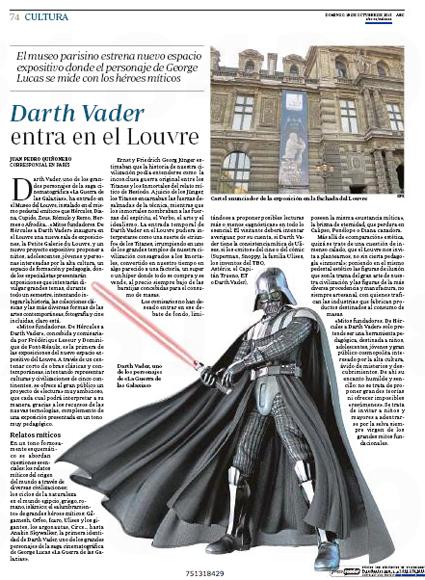 15j18 Dart Vader entra en el Louvre