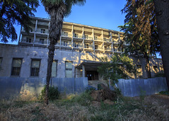Former top hotel, Tirana