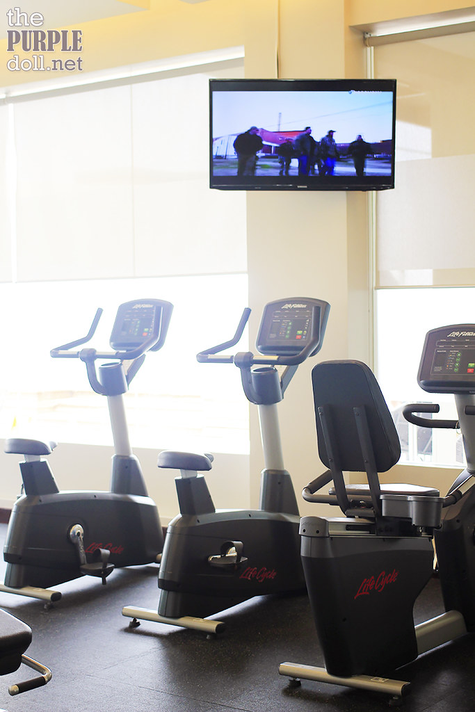 Gym Stationary Bike at Holiday Inn & Suites Makati