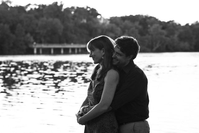 Austin, Texas Engagement Session near Lady Bird Lake, A Practical Wedding, Susanne and Ryan