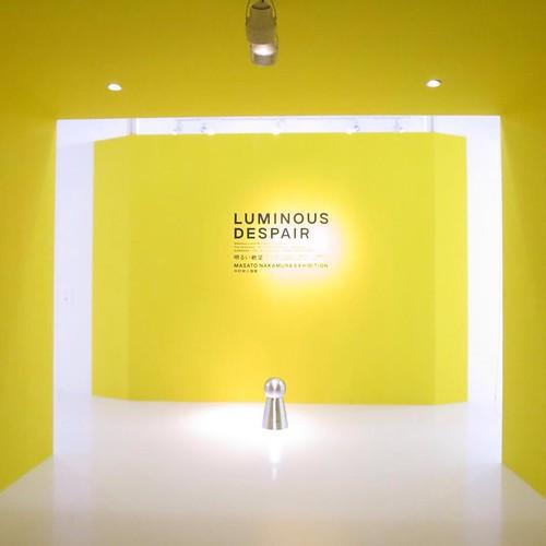 『LUMINOUS DESPAIR』ギャラリーツアー。中村政人さんの、作品を3331の宍戸さんが解説。このあと12時から、3331館内ツアーの予定。 #3331artschiyoda #千代田区ディスカバリーミュージアム秋ツアー