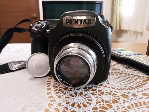 Pentax 645Z with Tessar 10cm f2.8