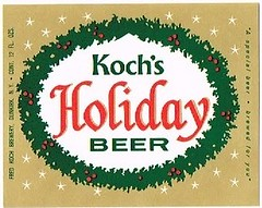 Kochs-Holiday-Beer--Labels-Fred-Koch-Brewery