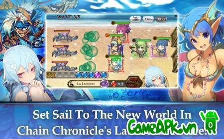 Chain Chronicle v2.0.10.18 hack full cho Android