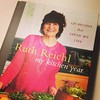Devouring this book on holiday this week. Ruth Reichl (and @nigellalawson) write my favourite food prose.