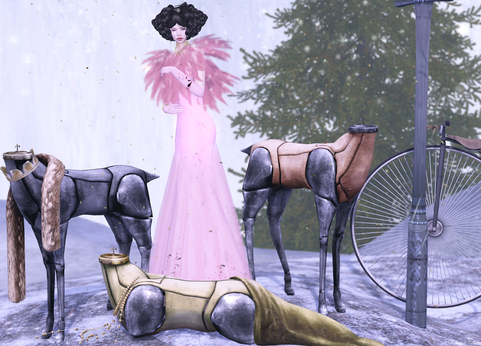 Sascha's Designs - Sascha's Gown 2015 (Free)