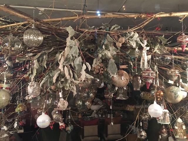 Old Pasadena Holiday Decorations 2015