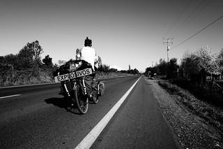 En route vers le volcan Osorno