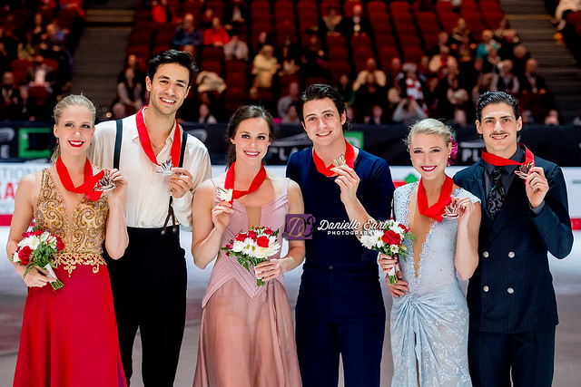 Ice Dance Medal Ceremony