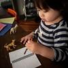 Little scribbler. 583d