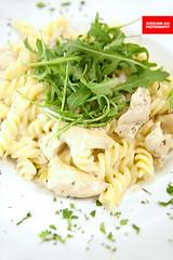 Chicken & Arugula Fusilli