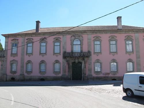 Palacio de los Condes de Anadia - Fachada