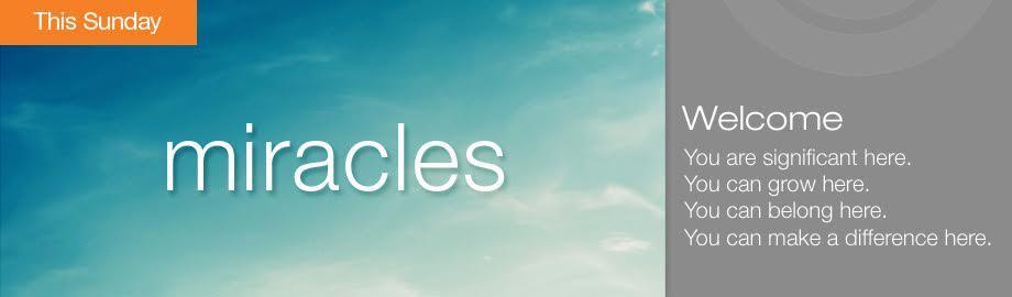 Miracles Series