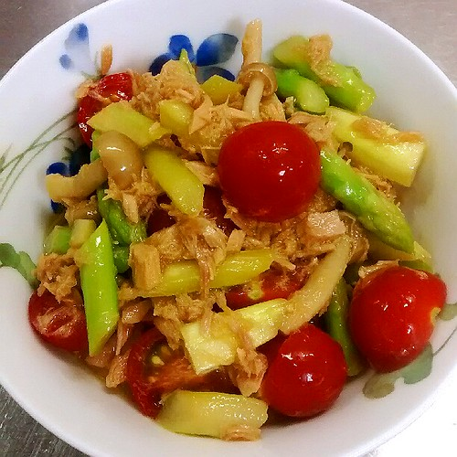アスパラ&トマトの絶品☆サラダ