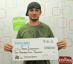 Jason Lundholm - $250,000 Fortune Frenzy