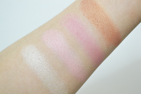Makeup Revolution Golden Sugar Ultra Blush and Contour Palette Review, Photos and Swatches