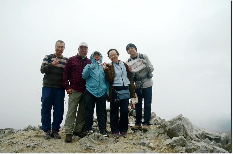 The summit of Torreys Peak 2