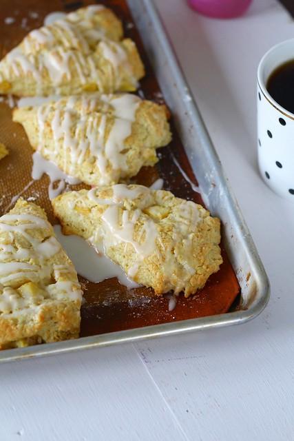 Peach Pie Scones