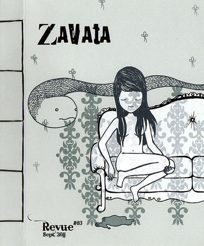 Revue Zavata #03 - Couverture