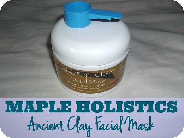 Maple Holistics Ancient Clay Facial Mask Review