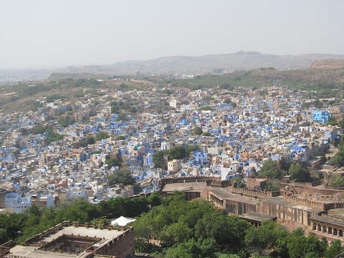 Jodhpur: la ville bleue