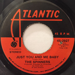 THE SPINNERS:COULD IT BE I'M FALLING IN LOVE(LABEL SIDE-B)